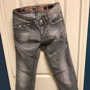Rock Revival Jeans - Rock Revival Girls Jeans size 31 with 27 inch legs